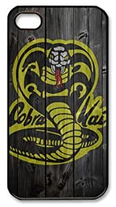 LZHCASE Personalized Protective Case For Samsung Note 2 CoverCobra Kai Logo Wood Look