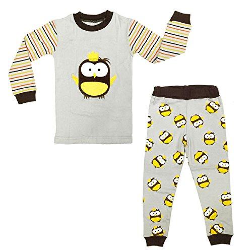 Girls Baby Infant Loungewear Pant (Dabuyu Owl Children's Pajamas, 6 - 7 Yrs)