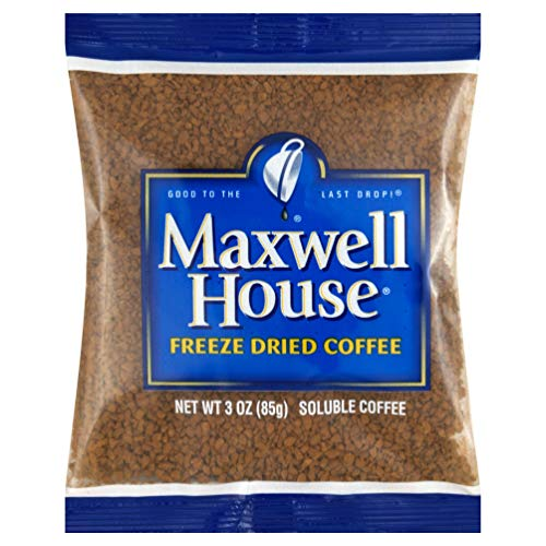 - Maxwell House Freeze-dried Coffee, 3 oz. (Coffee) Pack of 32