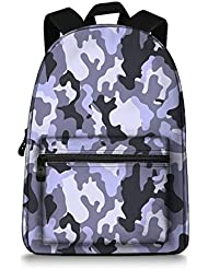 Jeremysport US Army Camo School Bag Rucksack Backpack
