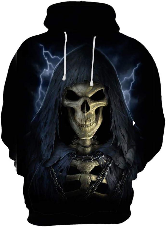 LFKLMS 3D Hoodie 3D Sweater Poker Hoodies Men//Women Hooded Hoodies Print Playing Cards Skull Thin 3D Sweatshirts Hoody Tops