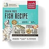 Honest Kitchen The Human Grade Dehydrated Grain Free Fish Dog Food, 4 lb - Zeal