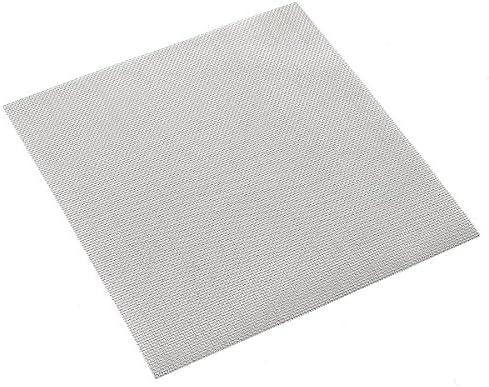 Queenwind 15x15cm 織りワイヤー布スクリーンステンレススチール 304 20 メッシュ