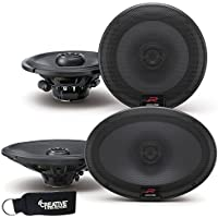 Alpine R-Series Bundle - A pair of Alpine R-S65 6.5 Inch Coaxial 2-Way Speakers & a pair of R-S69 6x9 Coaxial Speakers