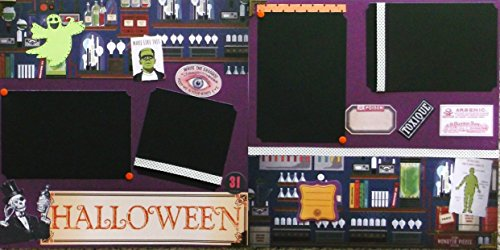 Halloween Experiments (2) Scrapbook Pages (Is Halloween The 31)