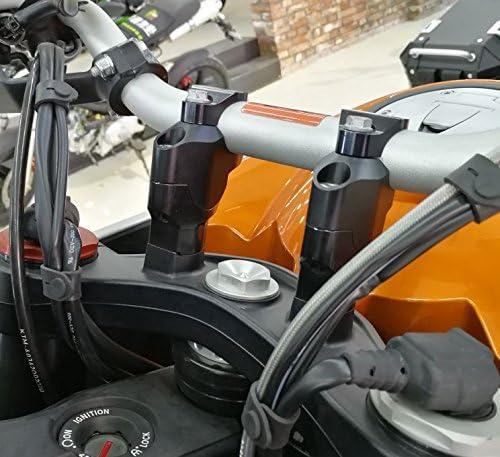 Handlebar Riser Move 30mm Up 25mm Back Fit KTM 1290 Super Adventure//R Duke GT US