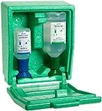 PLUM Covered Eye Wash Station; 2 Bottles, 200ml Sterile pH Neutralizing, 500ml Sterile Saline (F24880-5003)