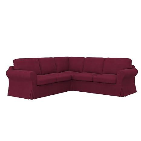 Soferia - IKEA EKTORP Funda para sofá Esquina 2+2, Eco ...