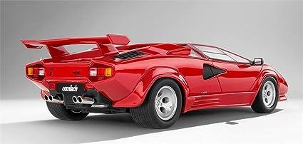 Amazon.com: Lamborghini Countach LP5000 QV in 1:18 Scale by Kyosho ...