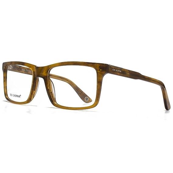 Ben Sherman Steve Oversized Square Glasses in Brown BENO001-BRN ...