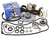93 honda prelude timing belt - Evergreen TBK187VCA 90-97 Honda Accord F22A F22B Timing Belt Kit Valve Cover Gasket AISIN Water Pump