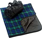 CozyCoverz Outdoor Rainproof & Windproof Stadium Blanket/Picnic Blanket 50