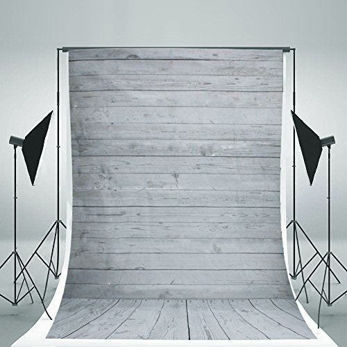 FLORATA Wooden Wall NEW Vinyl Fabric LESS CREASE Photography Backdrops Photo Studio Background Studio Props Grade AAAAA (Updated Material)