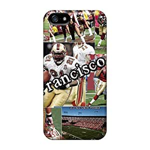Hard Plastic Iphone 5/5s Cases Back Covers,hot San Francisco 49ers Cases At Perfect Customized
