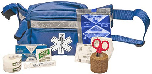 Certified Safety K610-002 SB2 Sports Bag First Aid Kit in Blue Fanny Pack