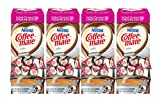 NESTLE COFFEE-MATE Coffee Creamer, Salted Caramel Chocolate, liquid creamer singles, 50 Count, Pack of 4