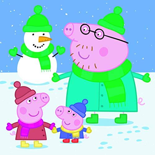 Dino Toys (DINR7) 335301 Puzle Peppa Pig: Joyful Afternoon 3X55 Pcs, ()