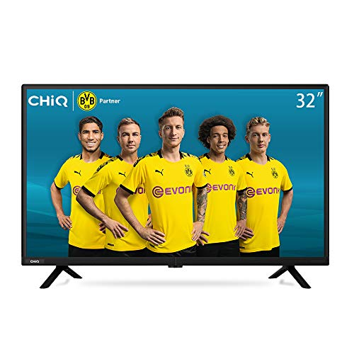 CHiQ L32K2 LED TV, 32 inch, Narrow Bezel, Blue-ray DeCoding, Multi-Media play, DVB-T/T2, HDMI, USB, Black