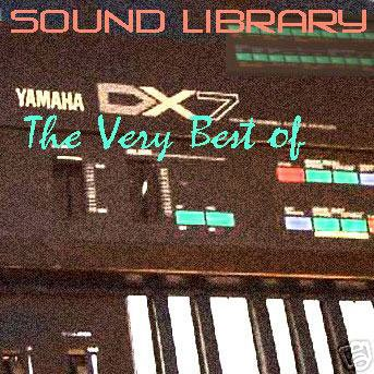 YAMAHA DX7 - Sound Library Original Samples on CD: Amazon ca