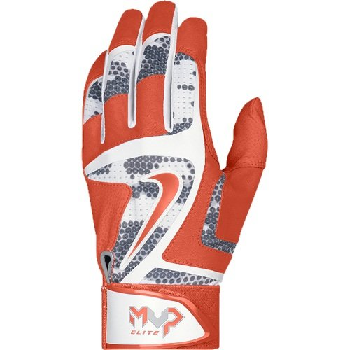 Nike MVP Elite Batting Gloves - Black/Black - Medium GB0378-007-M