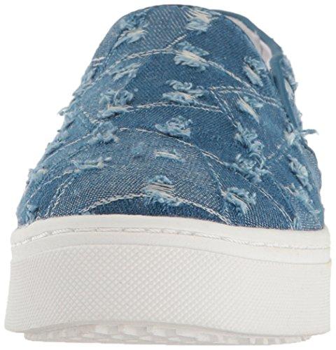 Women's Edelman Denim Sneaker Sam Lacey Blue Fashion Mid vqP55Awz