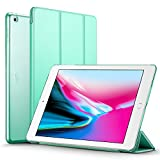 iPad 2017 iPad 9.7 inch Case, ESR Lightweight Smart Case Trifold Stand with Auto Sleep/Wake Function, Microfiber Lining, Hard Back Cover for Apple iPad 9.7-inch,Mint Green
