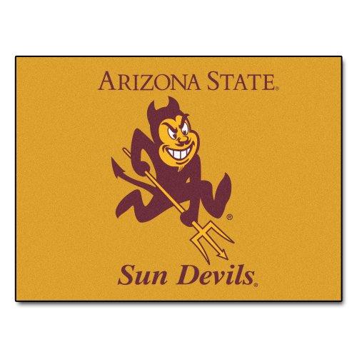 State University Sun Devils Nylon Face All-Star Rug (Arizona State Tailgater Rug)