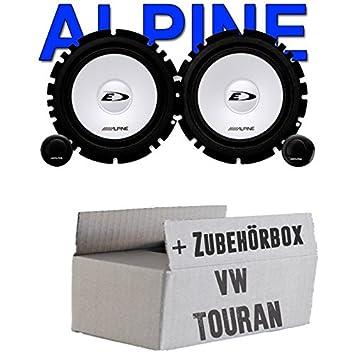 Volkswagen Touran – Altavoces traseros – Alpine SXE 1750s Sistema compostador