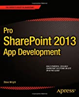 Pro SharePoint 2013 App Development Front Cover