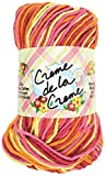 Coats Yarn Creme De La Yarn, Taffy Stripe