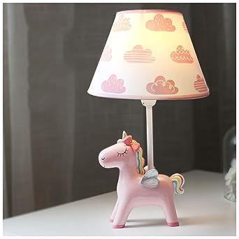Pegasus habitación de los niños lámpara de mesa nube protección ...