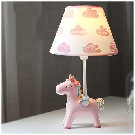 Pegasus habitación de los niños lámpara de mesa nube ...