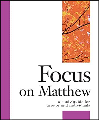 Book of matthew study questions