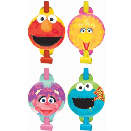 sesame street party blowers - 1
