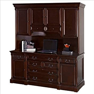Amazon.com: Kathy Ireland Home by Martin Furniture Mount View Wood ...
