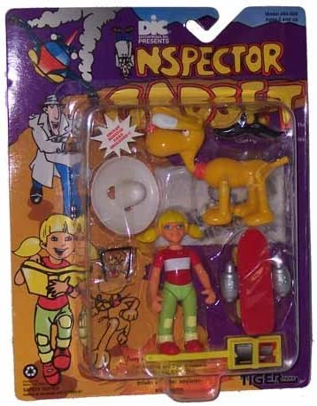 Inspector Gadget Penny and Brain Action Figure Set by Tiger ...