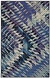 Mohawk Precision Printed Prismatic Splice Area Rug, 8'x10', Navy