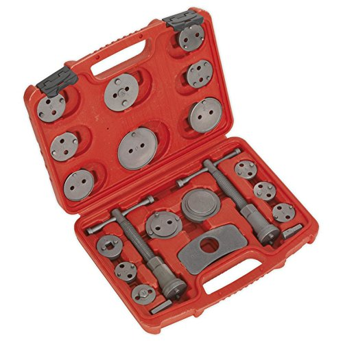 Sealey VS0282 Brake Piston Wind-Back Tool Kit 21pc