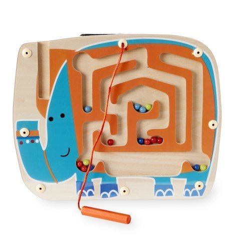 Imaginarium Discovery Wooden Magnetic Maze Puzzle - Elephant - Exclusive Wooden Elephant