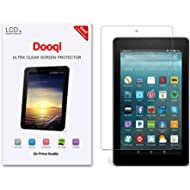 3X Dooqi HD Clear Screen Protector For Amazon Fire 7 Tablet with Alexa 7