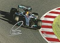 2016 Lewis Hamilton Formula 1 F1 Mercedes Benz Petronas Signed 6x8 Photo - Autographed Extreme Sports Photos from Sports Memorabilia