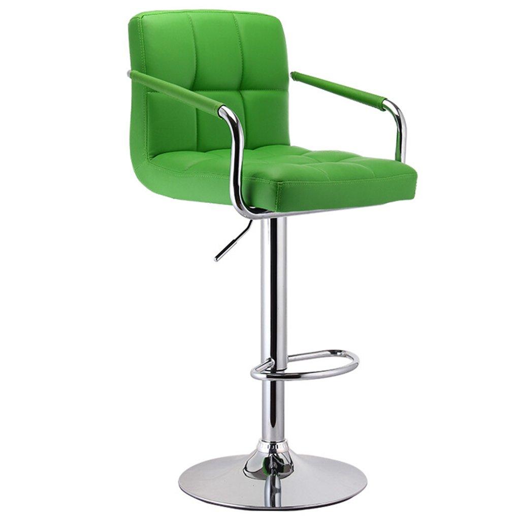 7 Bar stools, bar Chair Lift bar Chair Leather Bar Stool Household Chair 360 Degree (color    9)