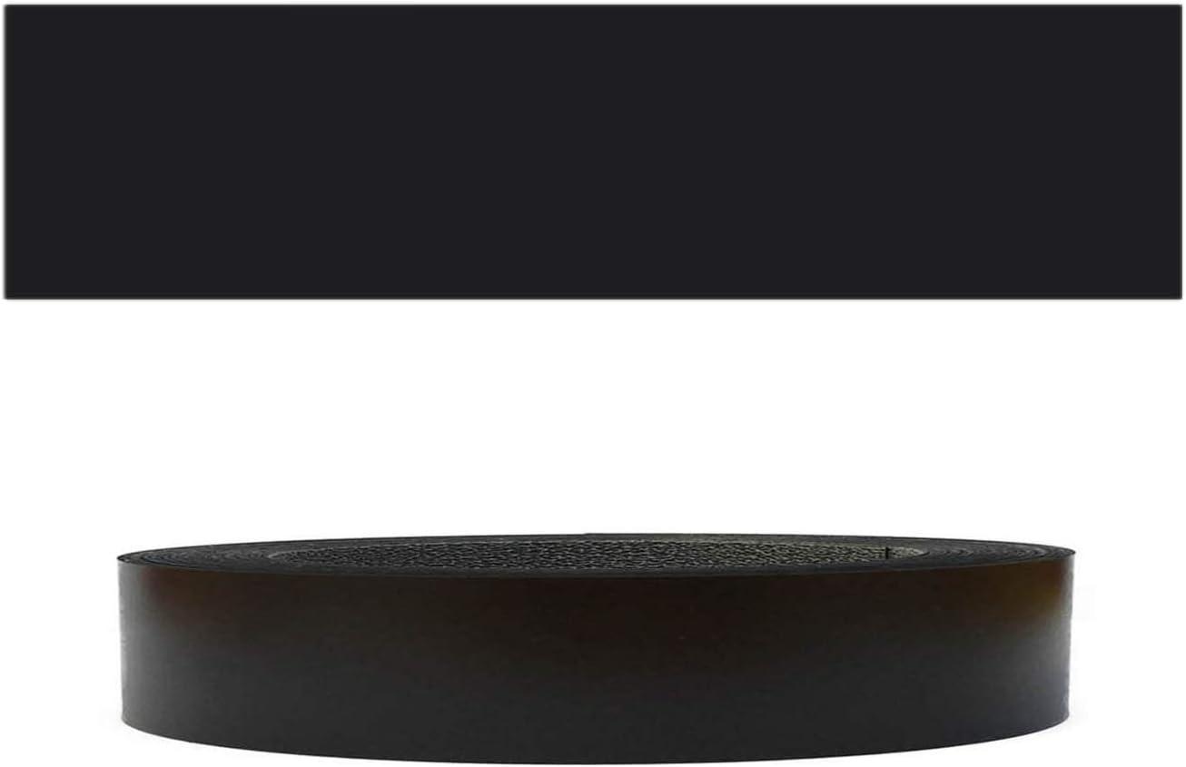 Mprofi MT® (20m rollo) Cantoneras laminadas melamina para rebordes con Greve Negro Liso 22 mm