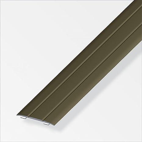 Bevorzugt Übergangsprofil 100x3,7x0,25cm flach Aluminium bronze eloxiert PP16