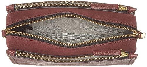 Cabernet Crossbody Damen bandoulière Campbell Fossil Rouge Tasche Sacs q0dtxcAw