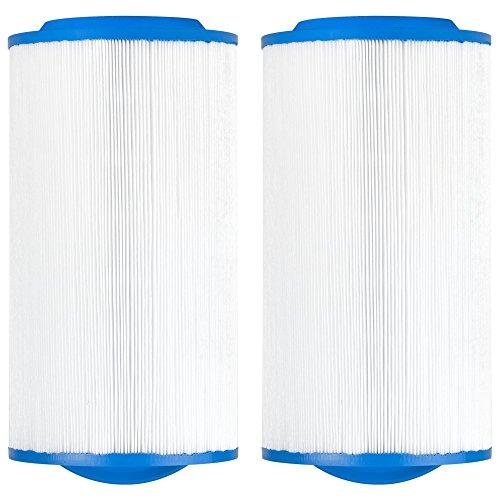 Clear Choice CCP452 Pool Spa Replacement Cartridge Filter for Waterway Teleweir, Rising Dragon,  ...