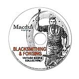 Blacksmithing & Forging Vintage Books Collection 33 PDF E-Books on 1 DVD Anvil, old books on disc