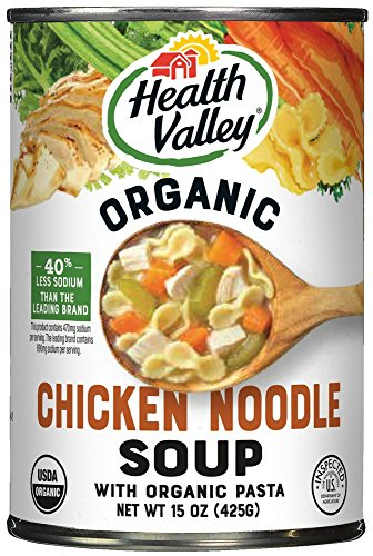 (Health Valley Organic Soup, Chicken Noodle, 15 Ounce (Pack of 12))