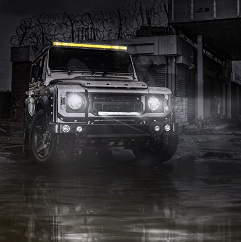 Rigidhorse-Quad-Row-Multi-Color-Light-Bar-Combo-Beam-Off-Road-Driving-Flood-Spot-Bar