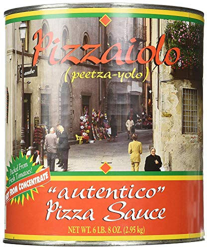 Pizzaiolo Pizza Sauce #10, Pack of 6